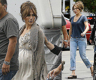 Photos of Jennifer Lopez and Her Son Max Anthony on the Set of The Back-Up Plan