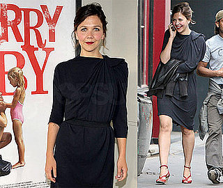 Photos of Maggie Gyllenhaal, Peter Sarsgaard and Jake Gyllenhaal in Paris