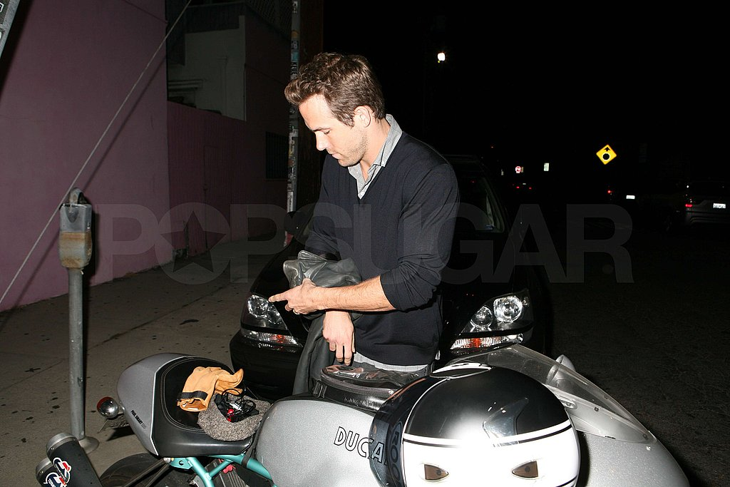 Ryan Reynolds Reads Then Bikes