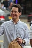Paul Rudd on Set