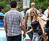 Photo Slide of Jennifer Aniston and Gerard Butler on the NJ Set of The Bounty Hunter