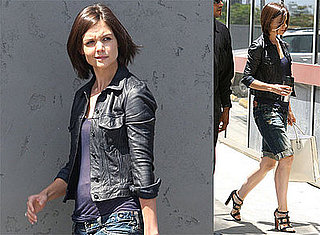 Photos of Katie Holmes in LA