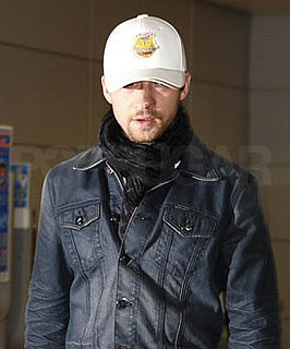 Photos of Justin Timberlake at Charles de Gaulle