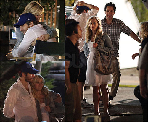 Photos of Reese Witherspoon, Paul Rudd, Jake Gyllenhaal Filming How Do You Know?