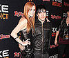 Slide Photo of Ashlee Simpson and Pete Wentz at AXE Instinct Party in NYC