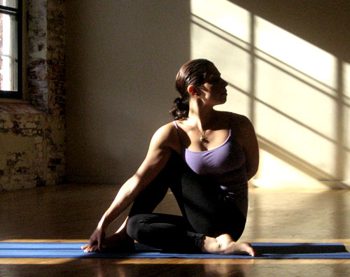 Strike a Yoga Pose: Seated Spinal Twist