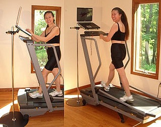 AirDesk Laptop Stand For Treadmill