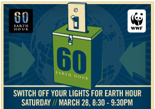 Weekend Well-Being: Celebrate Earth Hour