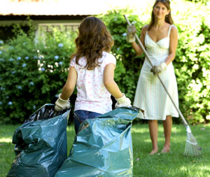 Burn Calories While Spring Cleaning