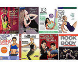 An Array of Fitness DVDs