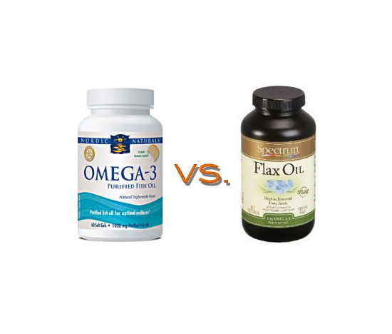 For Omega-3s — Flaxseed Oil or Fish Oil?