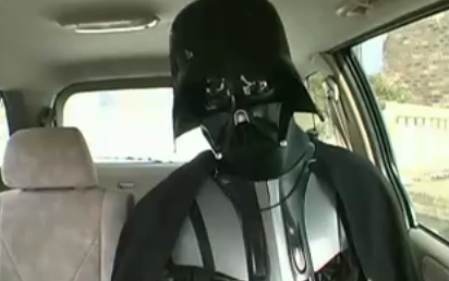 Chad Vader After a Visit to the Dentist