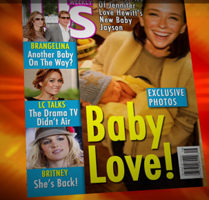 The Onion Reports Jennifer Love Hewitt Pays Magazine $2.2 Million To Run Photos of Her Baby