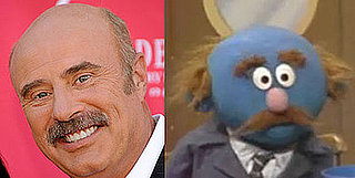 Twin Peeps: Dr. Phil and Muppet Who Complained About a Fly in His Soup