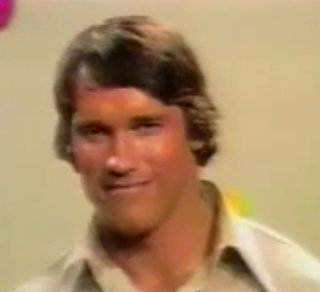 Arnold Schwarzenegger on the Dating Game in 1973