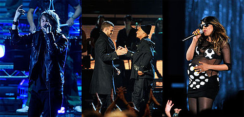 MIA, Radiohead, TI, Justin Timberlake at the 2009 Grammy Awards