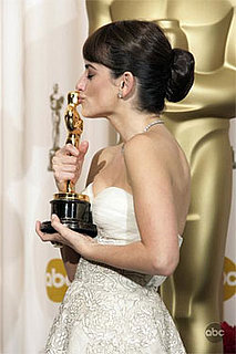 Penelope Cruz in the Press Room at the 2009 Oscars