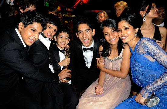 The Cast of Slumdog Millionaire