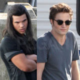 Twilight Battle of Hotness — Taylor Lautner vs. Robert Pattinson?