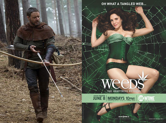 Photos from The Lovely Bones, Brittany Snow as Lily in Gossip Girl Spinoff, Robin Hood, and Weeds Season 5