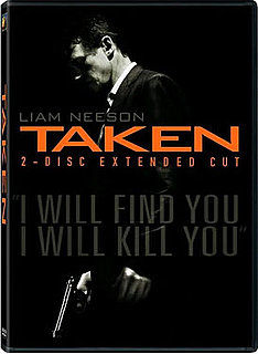 New on DVD, Taken