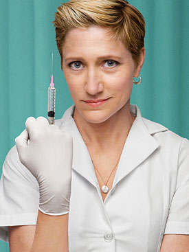 Watch Full Video of First Episode of Nurse Jackie on Showtime Starring Edie Falco