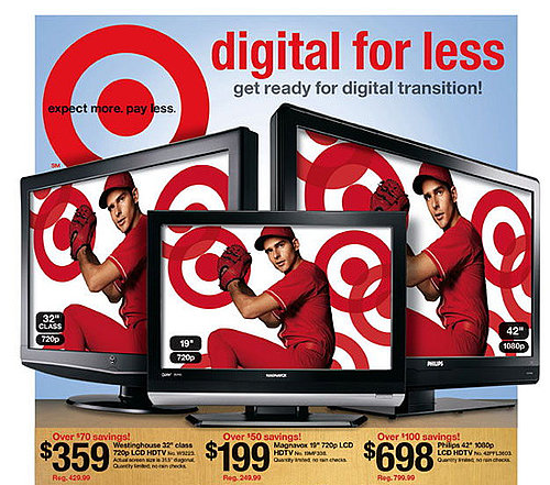 Target Drops the Prices On HDTV's
