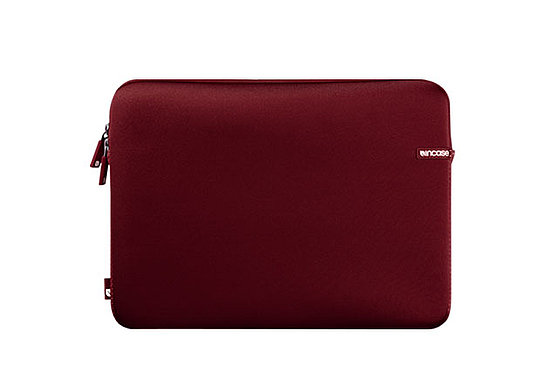 Red Neoprene Laptop Sleeve
