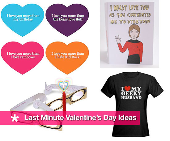 Ten Last Minute Valentine&#039;s Day Ideas!