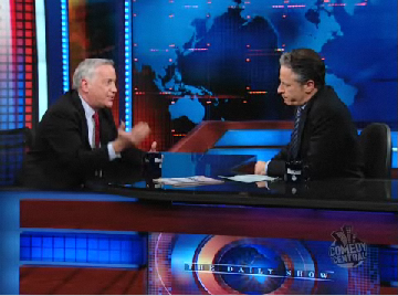 Jon Stewart Talks Paying For News on the Internet