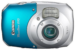 Canon PowerShot D10 is a Waterproof, Freeze Proof, and Shockproof Digital Camera