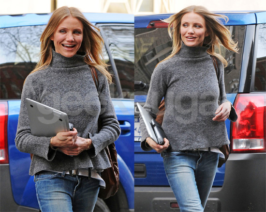 Cameron Diaz Is Wired