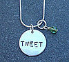 Tweet Necklace For Twitter Lovers