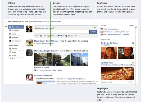 Facebook to Launch Redesign