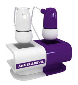 Angel-Devil Earphones by Green House Fit All Personalities