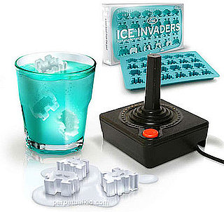 Geeky Ice Cube Trays Make Ice Cubes in the Shape of Space Invaders