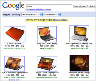 How to Search For Certain Colors in Google Images