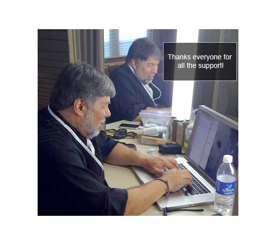 The Woz Reads All of His Fan Email