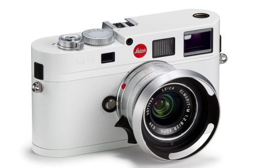 A Lighter Shade of Pale: White Cameras