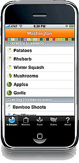 Locavore iPhone App Tells You What's in Season Where You Are