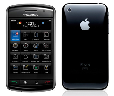 BlackBerry Storm 2 and Next iPhone Rumored