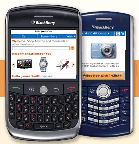Amazon Launches An App For the BlackBerry