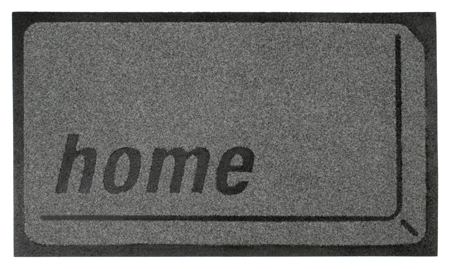 Home Button Doormat Is Made of Recycled Rubber
