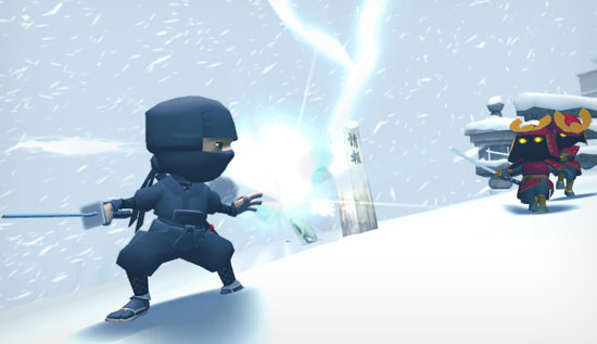 Preview the Mini Ninja Video Games