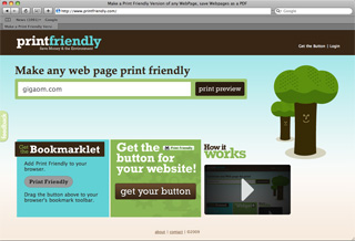 PrintFriendly Makes Any Webpage Easily Printable