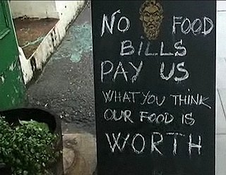 At One London Restaurant, the Bill Is up to You