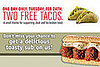 Get Two Free Tacos at Jack In the Box, Free Quizno's Subs