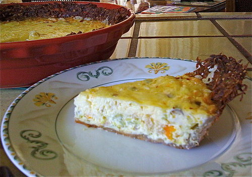 Recipe For Quiche With Potato Crust