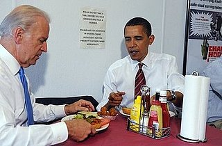 President Obama's Lunchtime Visit to Ray's Hell Burgers