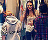Slide Photo of Lindsay Lohan Shopping in NYC With Brother Cody Lohan